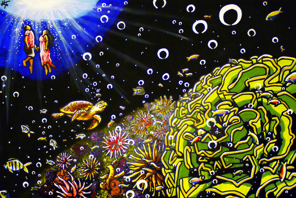 """Uplifted 24""""x36"""" Canvas Painting"""