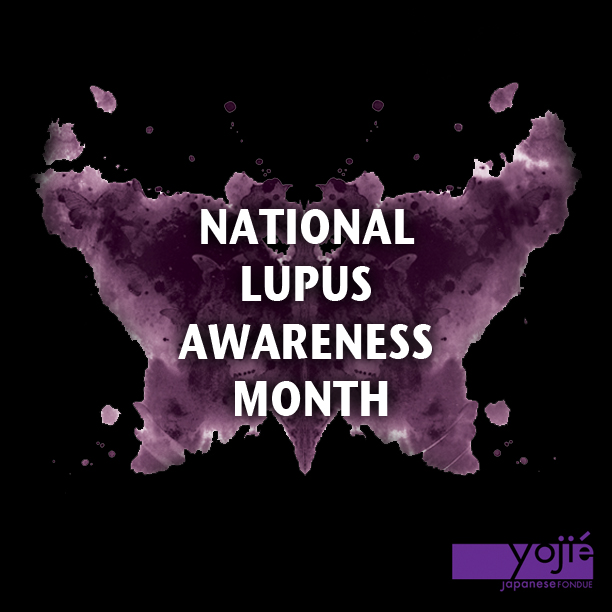 Yojie National Lupus Awareness Month Flyer